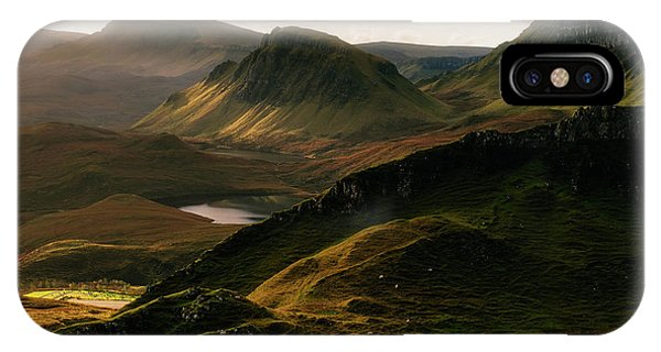 Isle Of Skye iPhone Case - Light And Shadows by Adrian Popan