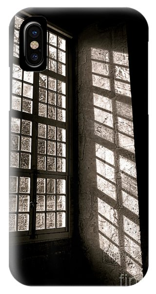 Window Pane iPhone Case - Light And Shadows by Olivier Le Queinec
