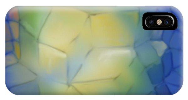 Light Cubes Away IPhone Case