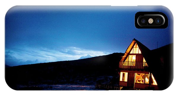 Colombia iPhone Case - Light From A Tourist Lodge by Dennis Drenner