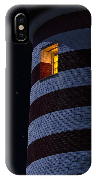 Full Moon iPhone Case - Light From Within by Marty Saccone