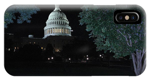 Light In The Capitol Phone Case by Frank Savarese
