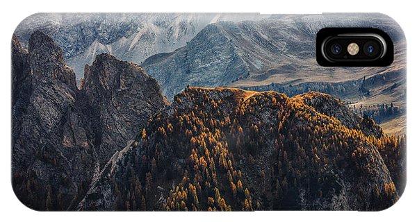 Light Of Autumn Phone Case by Uschi Hermann