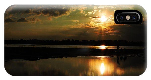 Light Of The Evening Phone Case by Ayan Mukherjee