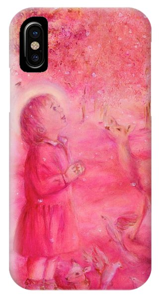 Light Of The Heart Phone Case by Marija Schwarz