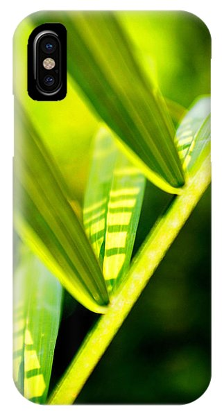 Light On Leaves IPhone Case