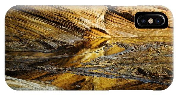 Light On Sea Cliffs IPhone Case