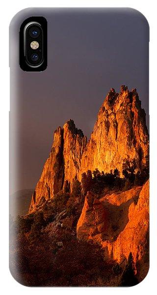 Light On The Rocks IPhone Case