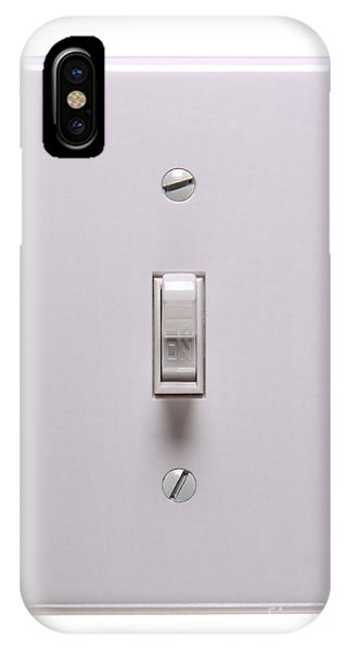 Light Switch On IPhone Case