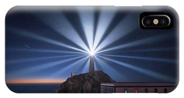 Lighthouse iPhone Case - Light The Night by Carlos F. Turienzo