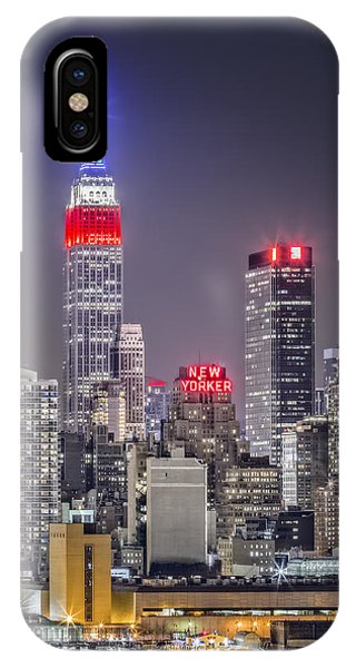 Empire State Building iPhone Case - Light The Way by Eduard Moldoveanu