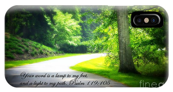Light To My Path IPhone Case