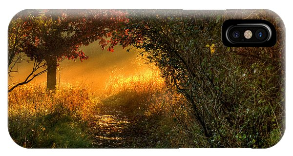 Lighted Path IPhone Case