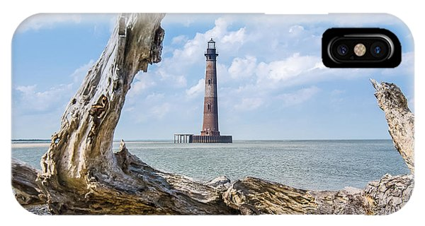 Lighthouse At Folly Beach IPhone Case