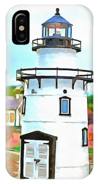Lighthouse At Old Saybrook Point IPhone Case
