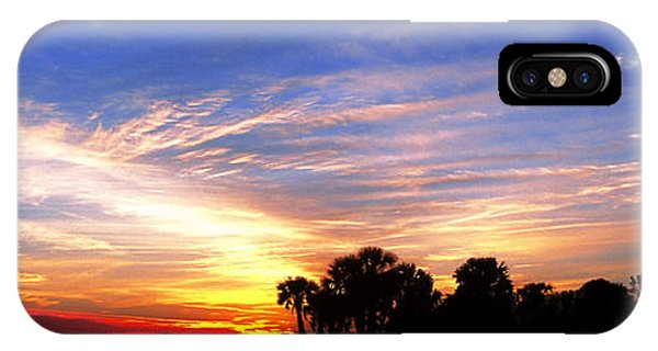 Lighthouse At Sunset IPhone Case
