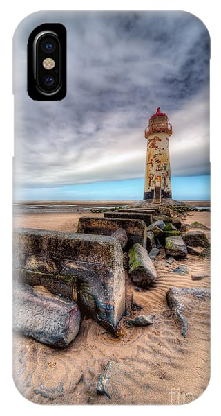 Lighthouse At Talacre  IPhone Case