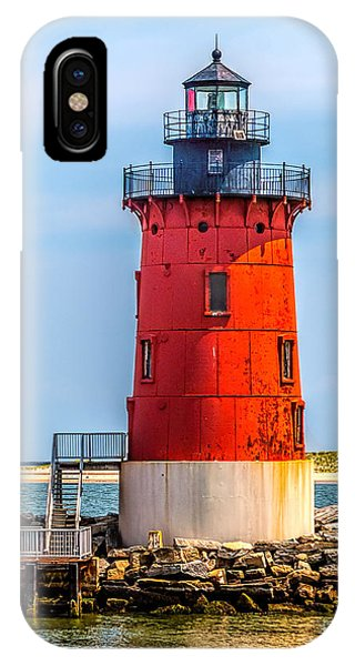 Lighthouse At The Delaware Breakwater IPhone Case
