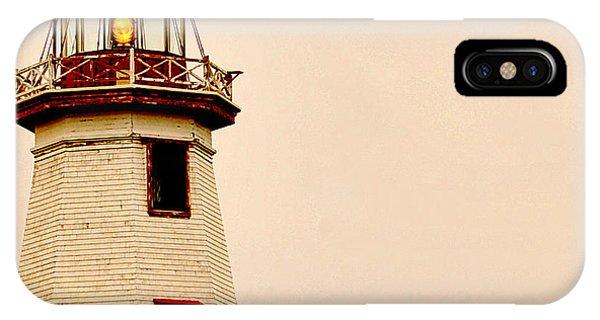 Lighthouse Beam IPhone Case