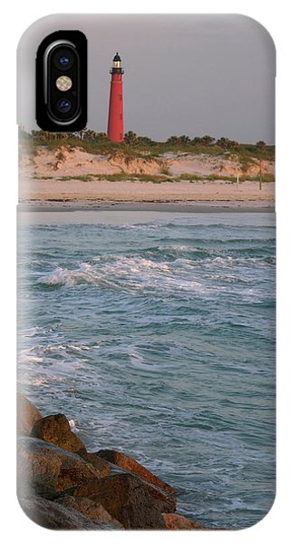 Lighthouse From The Jetty 2 IPhone Case