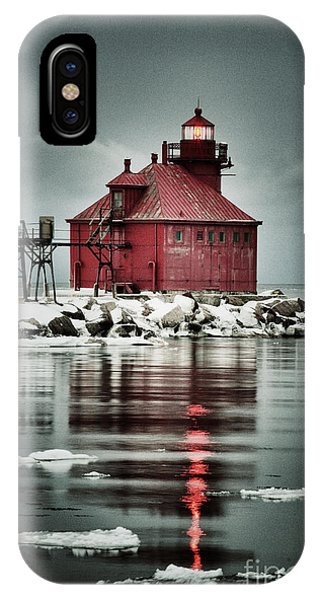 Lighthouse In The Darkness IPhone Case