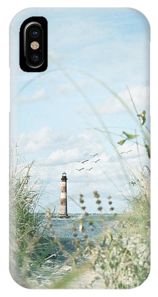 Lighthouse In The Sea IPhone Case