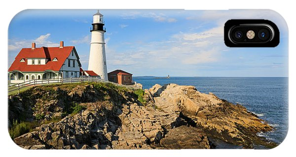 Lighthouse In The Sun IPhone Case
