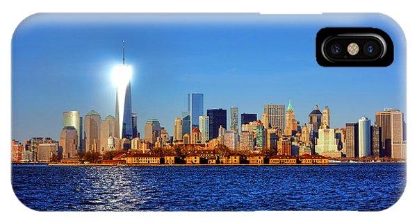 Lighthouse Manhattan IPhone Case