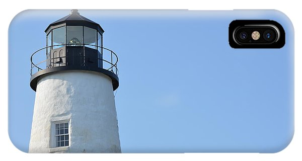 Lighthouse On Clear Day IPhone Case