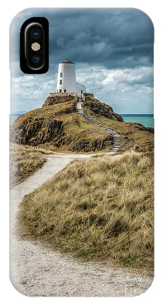Path iPhone Case - Lighthouse Path by Adrian Evans