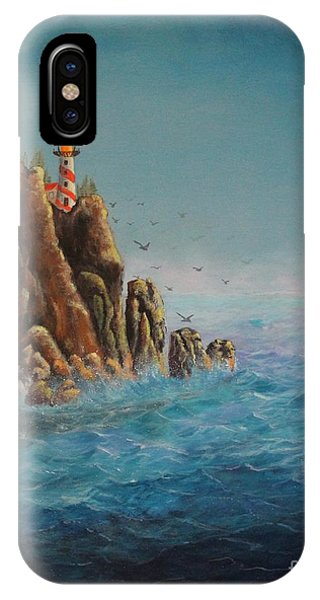 Lighthouse Point IPhone Case