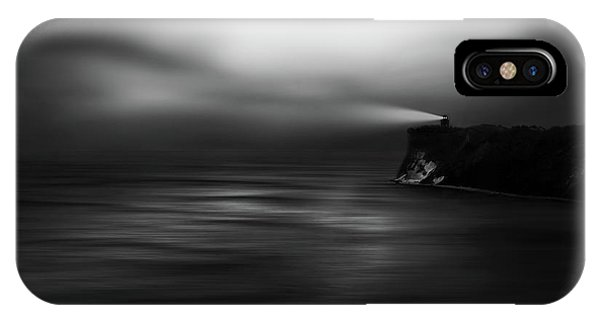 Lighthouse iPhone Case - Lighthouse Rock by Christoph Hessel