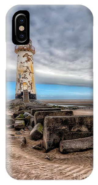 Navigation iPhone Case - Lighthouse Steps by Adrian Evans