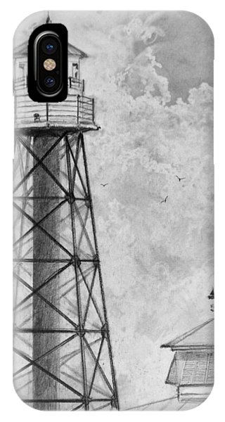 Lighthouse Sumter Landing IPhone Case