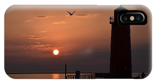 Lighthouse Sunrise IPhone Case