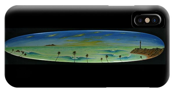 Lighthouse Surfers Cove IPhone Case
