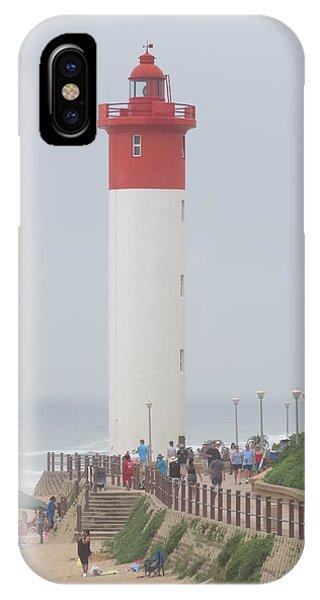 Lighthouse Umhlanga IPhone Case