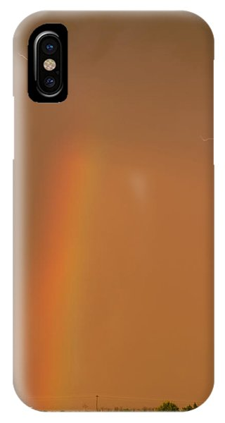 Lightning And Rainbow IPhone Case