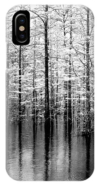 Lightning On The Wetlands IPhone Case