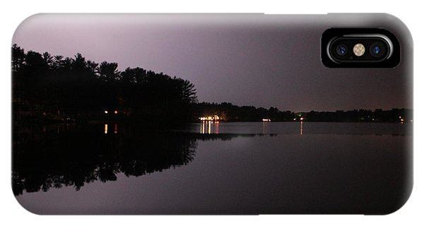 Lightning Over Water Phone Case by Sarah Klessig