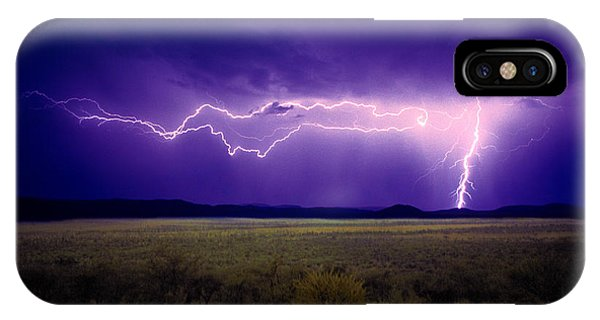 Lightning Serengeti IPhone Case