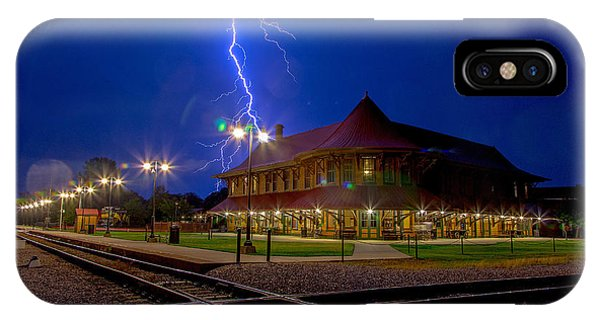 Lightning Show IPhone Case