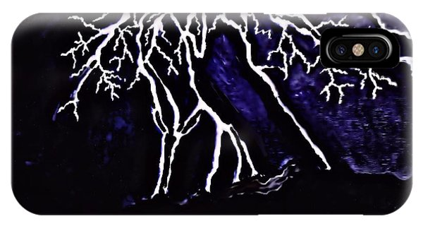 Abstract Lightning IPhone Case