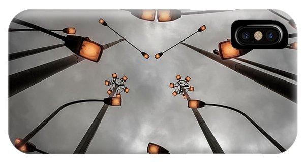 Street Light iPhone Case - Lights by Jure Kravanja