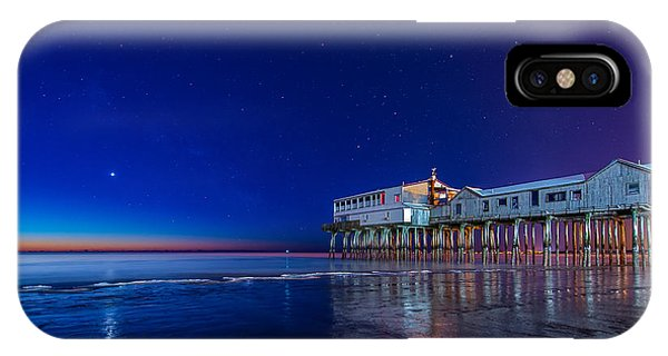 Orchard Beach iPhone Case - Lights Of Dawn by Michael Blanchette