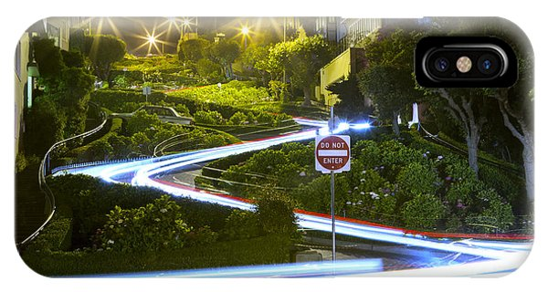 Lights On Lombard IPhone Case