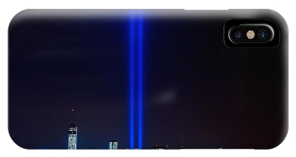 Lights Over Nyc IPhone Case