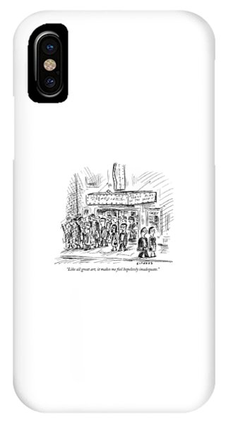 Like All Great Art IPhone Case