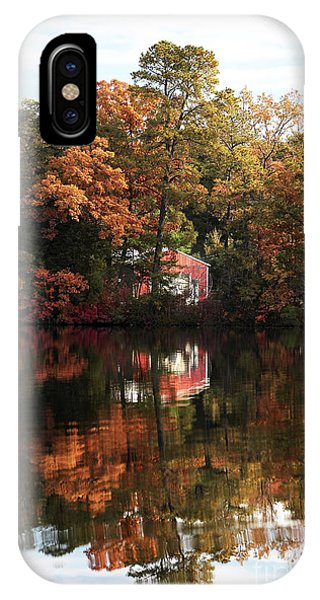 Lil Red On The Lake IPhone Case