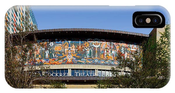 Lila Cockrell Theatre - San Antonio IPhone Case